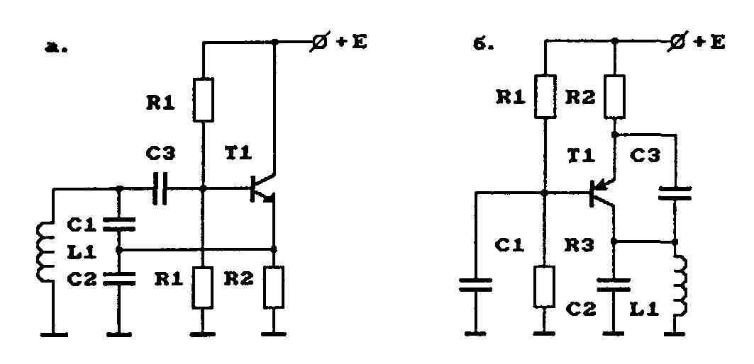 Примеры схем генераторов